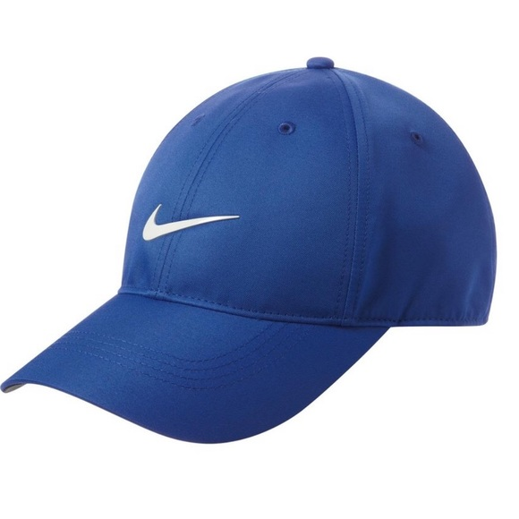 fcf0c0a6 Nike Royal Blue DriFIT Swoosh Baseball cap dad hat NWT